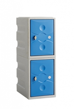 2 Door Mini Locker Water Resistant Ultrabox
