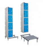 Plastic Locker Stands