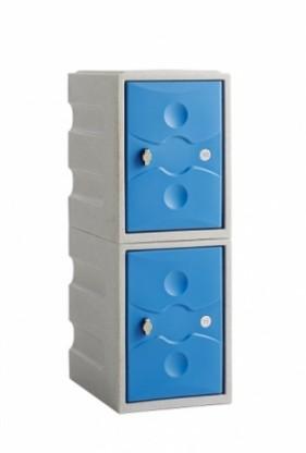 2 Door Mini Locker Water Resistant Ultrabox