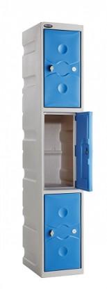 3 Door Water Resistant Ultrabox Lockers